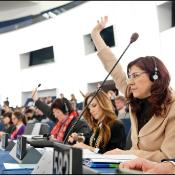 March European Council - debate vote: MEPs are voting in the EP chamber in Strasbourg on Wednesday 15 of February 2012.