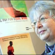 Edit Bauer part en campagne contre l'inégalité salariale