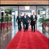 Parlementair voorzitter Schulz op de rode loper