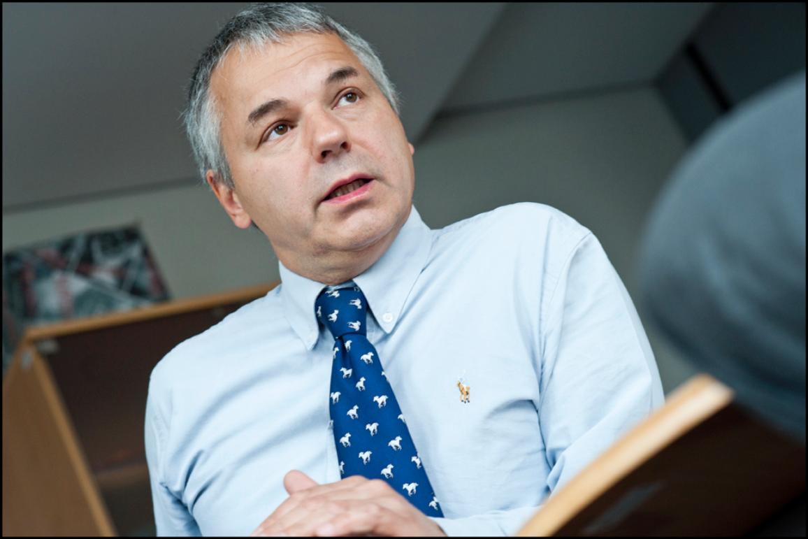 Il deputato italiano Niccolò Rinaldi (ALDE).
