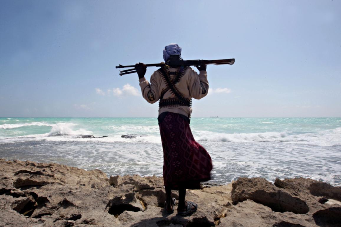 Un pirata somalí ©Belga/AFP