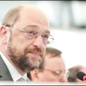 Martin Schulz during the opening May Pleanry Session