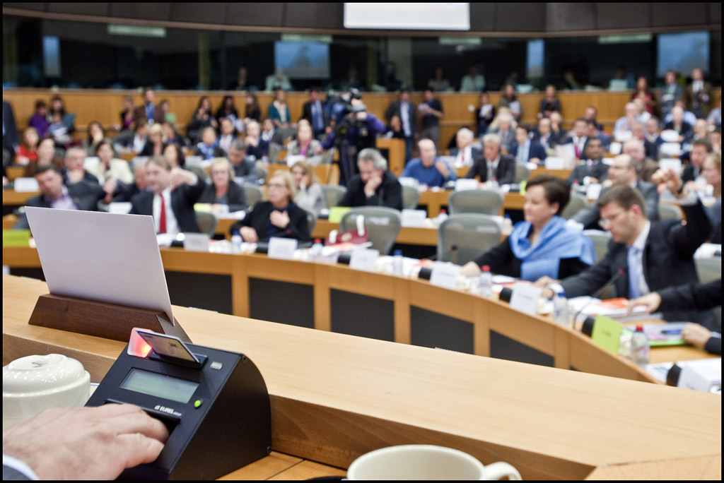 Three parliamentary committees voted on their recommendations regarding ACTA on 31 May