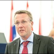 Danski pravosodni minister Morten Bodskov med razpravo o Schengnu