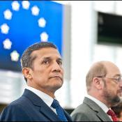 Prezident Peru Ollanta Humala vo svojom prejave pred plénom EP 13. júna  vyslovil záujem o užšiu spoluprácu krajiny s EÚ.