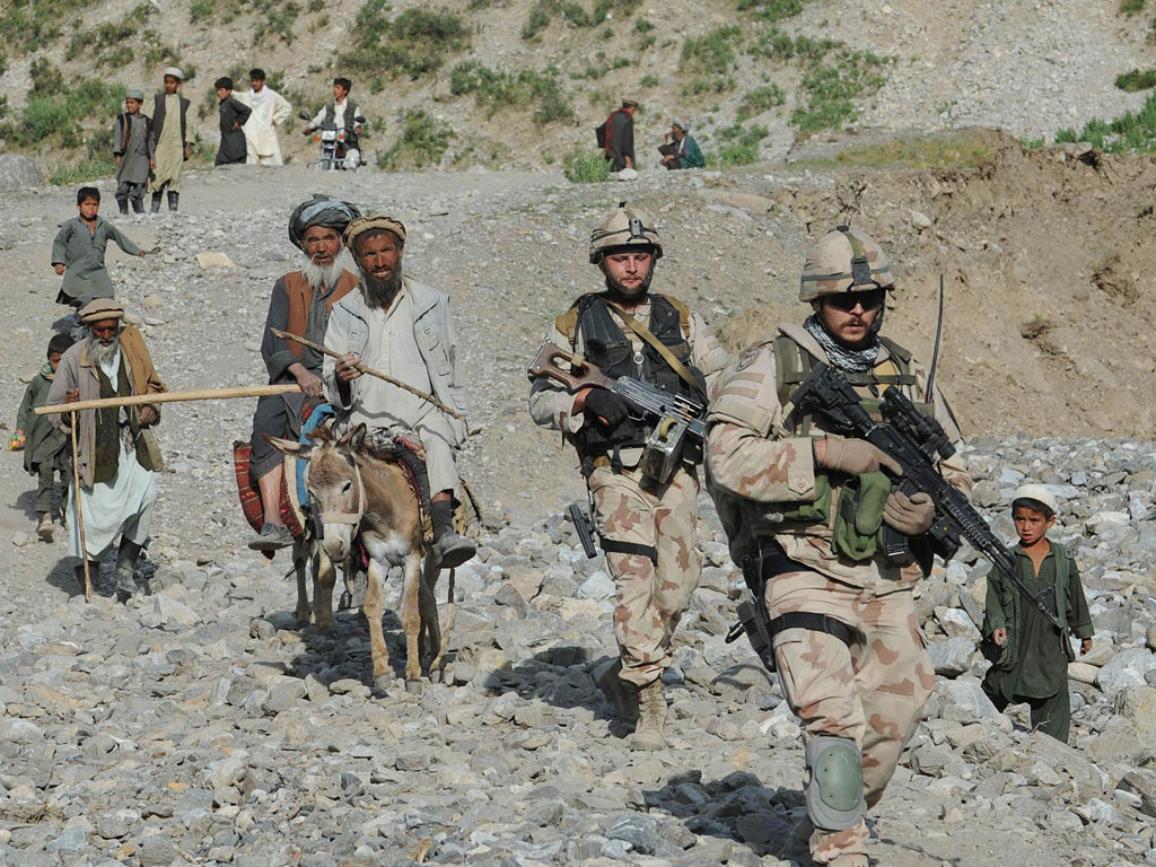 2014-ben hagyják el a NATO-csapatok Afganisztánt ©Belga/AFP