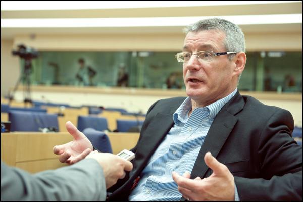 Entretien avec le rapporteur sur ACTA, David Martin