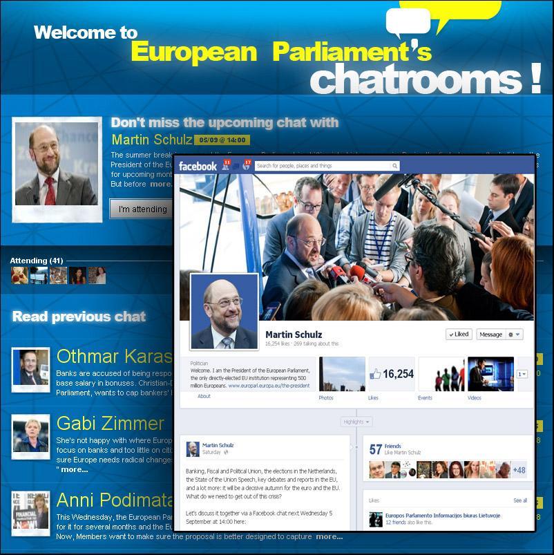 Participați la chat cu preşedintele Parlamentului European, Martin Schulz!
