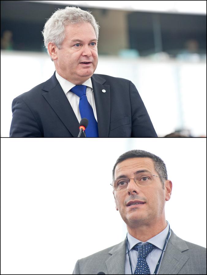 Andreas Mavroyiannis și Giovanni La Via
