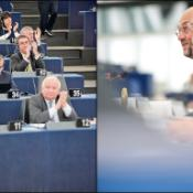 EP president Martin Schulz during the opening