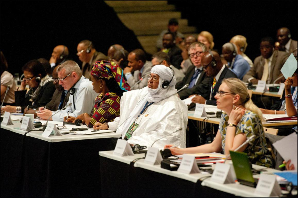 Abertura oficial da última Assembleia Parlamentar Paritária UE-ACP