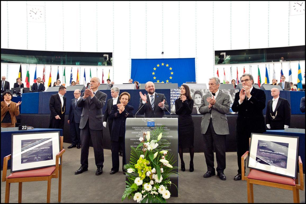 Photo of the day - Sakharov award ceremony