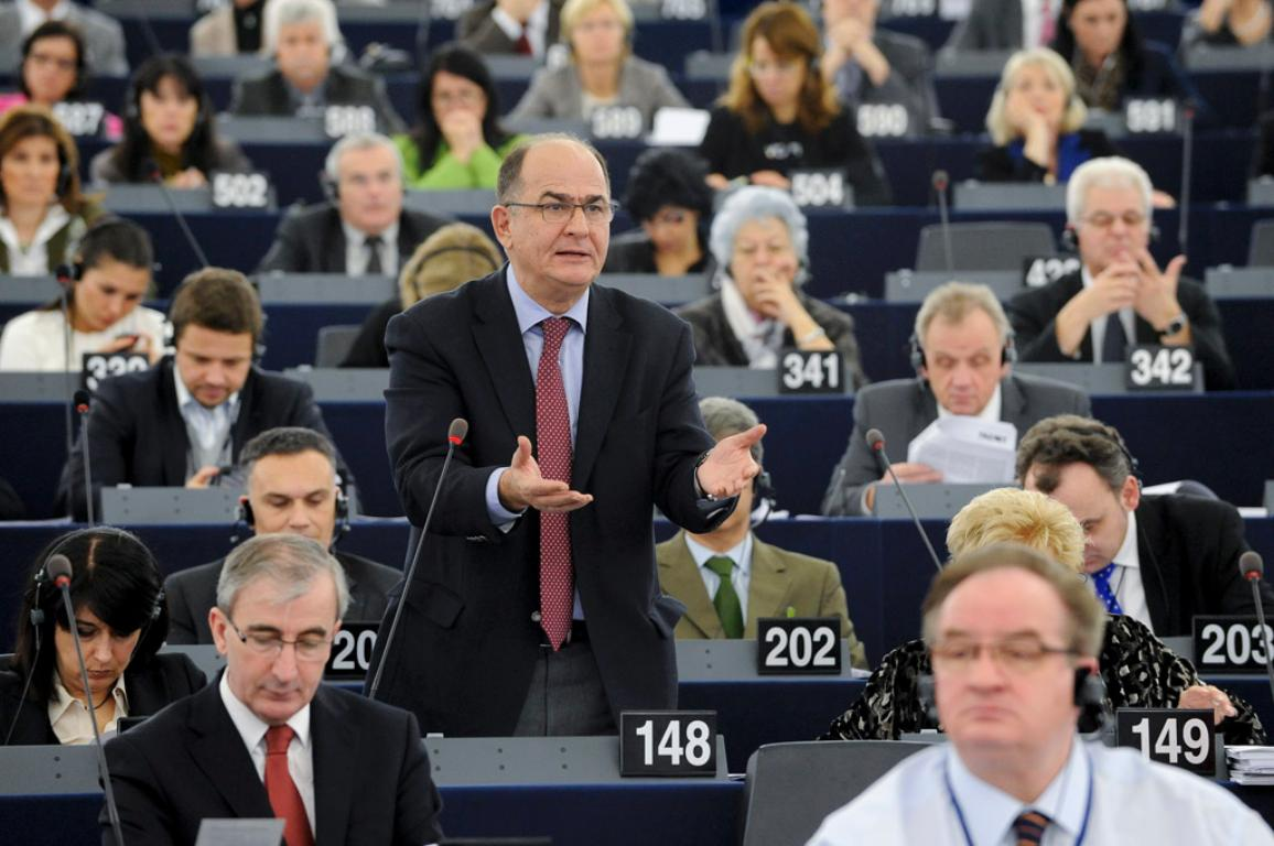 Georgios Papastamkos, from the European People's Party