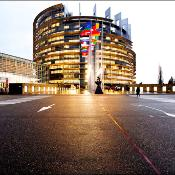 The EP tower in Strasbourg