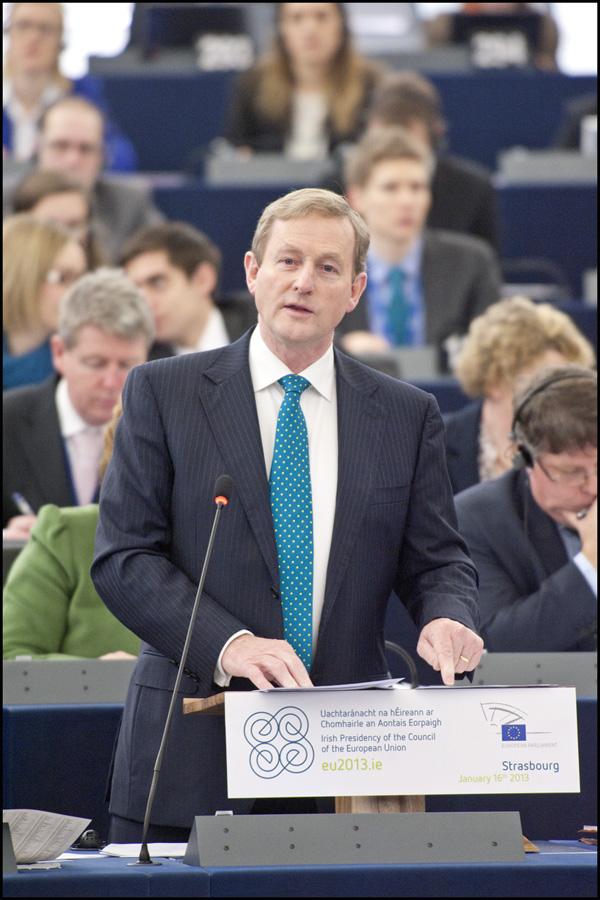 Premierul irlandez Enda Kenny