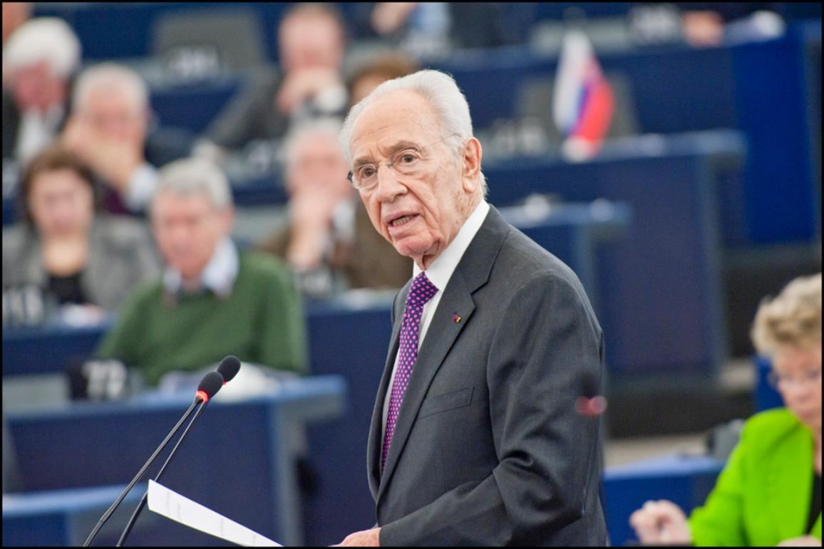 Israeli President Shimon Peres addresses European Parliament on Tuesday 12 of March 2013