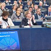 "EP rejects the European Council's conclusions on the EU budget for 2014-2020 ""in it's current form"" and calls for negotiation."