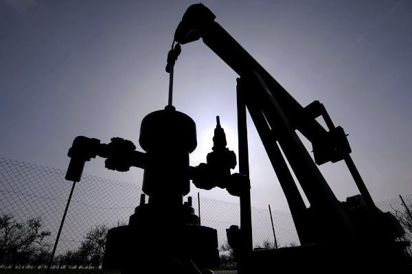 Eine Maschine mit der nach Öl gebohrt wird