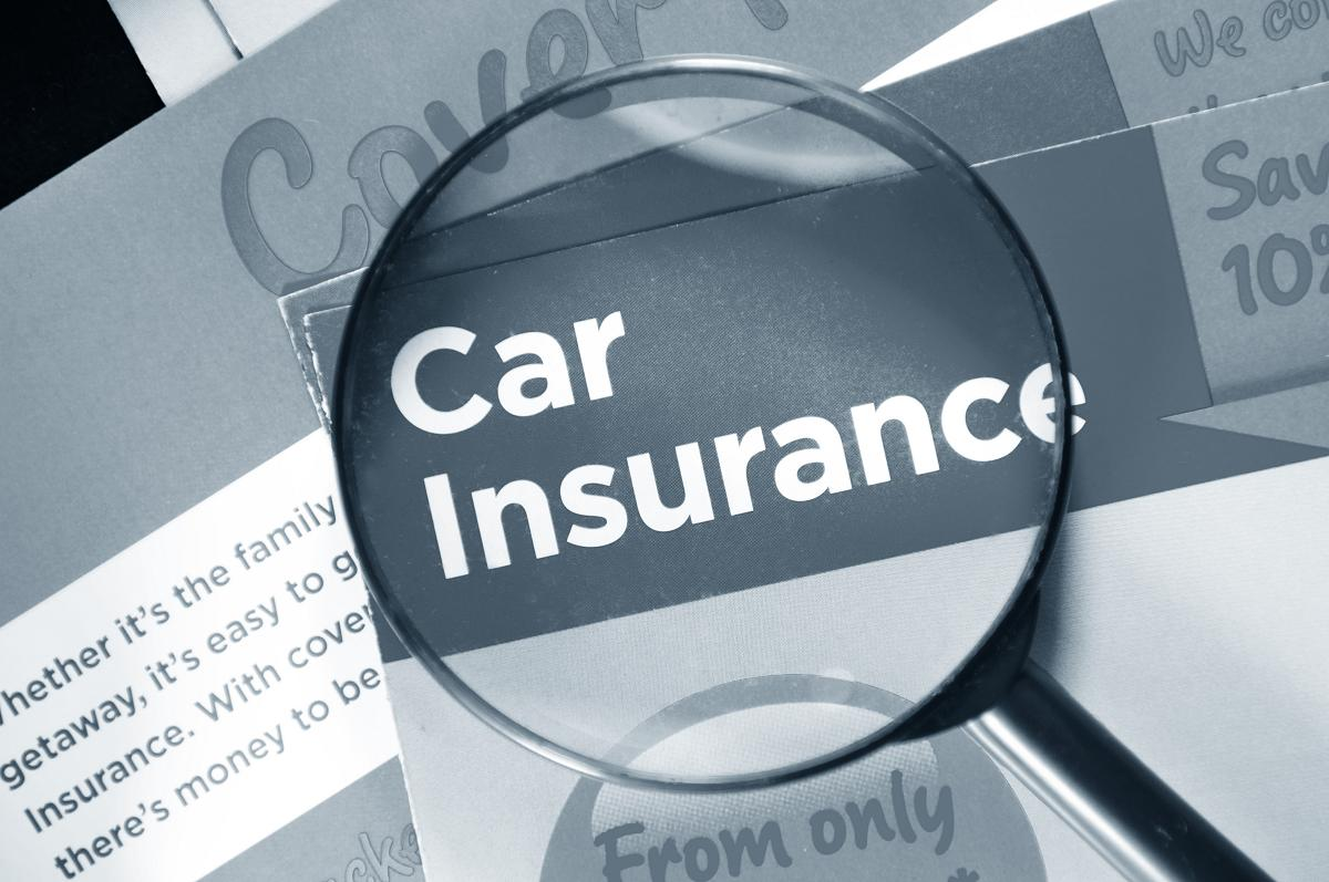 a picture illustrating a car-insurance policy