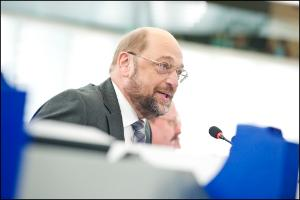EP President Martin Schulz April's plenary session opening speech