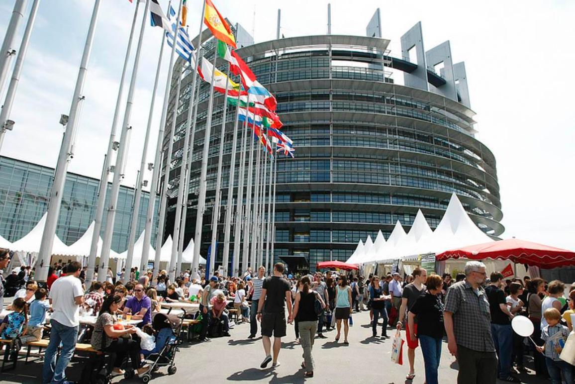 Tag der offenen Tür in Straßburg im Mai 2012