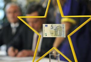 New 5 euro banknote