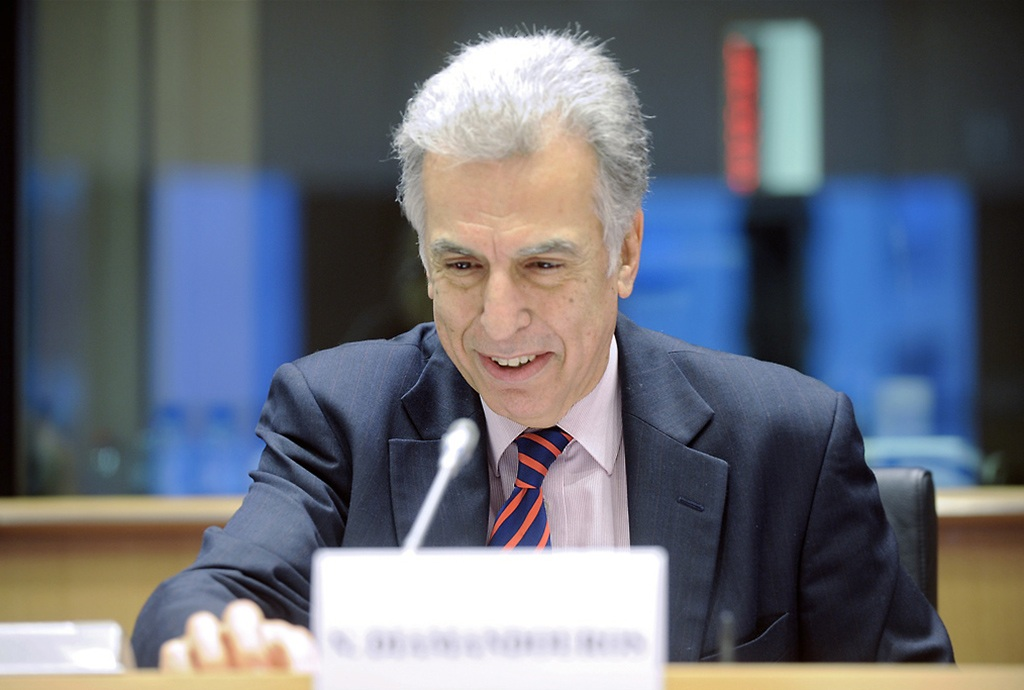 The current European Ombudsman, Nikiforos Diamadouros
