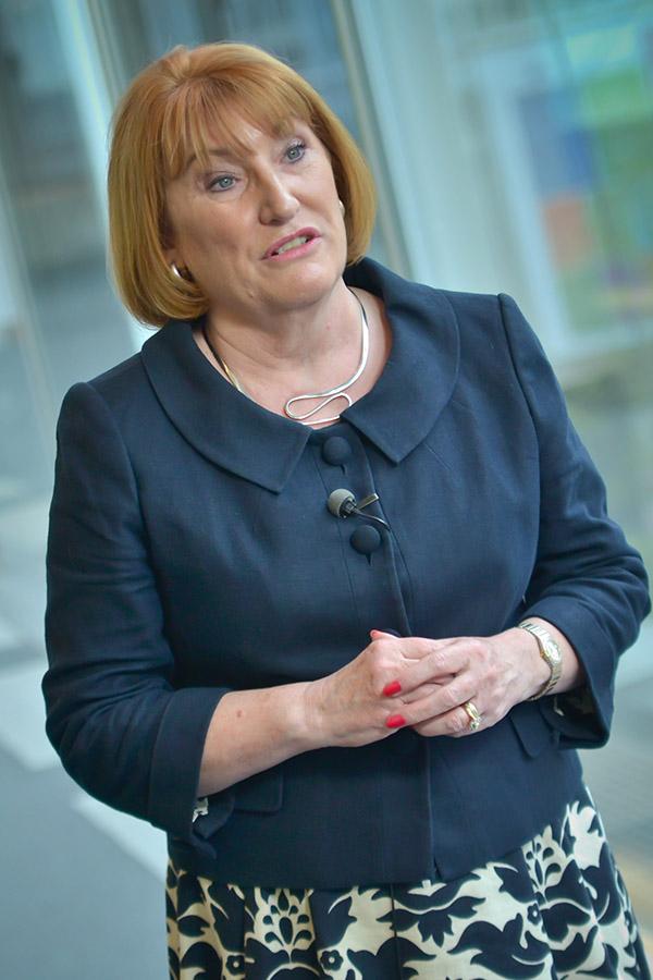 EU-Abgeordnete Glenis Wilmott