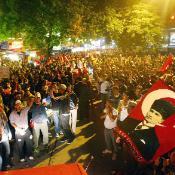 Kuva Turkin levottomuuksista.