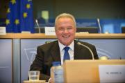 Neven Mimica  after the hearing
