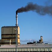 Air pollution from a paper factory -©BELGA/RBR/SCIENCE