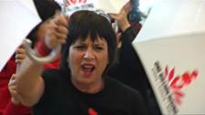 MEPs have been stepping out with author and activist Eve Ensler ahead of this week's debate and vote on combating violence against women and girls.