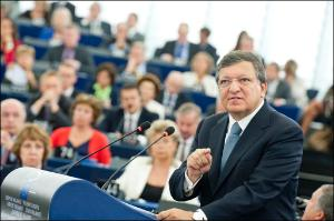 EC President José Manuel Barroso last debate on the State of the Union before EP elections