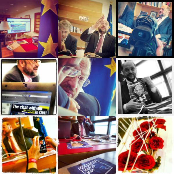 Schulz FB chat write up collage