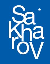 Sakharov logo - text version