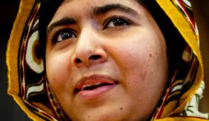 Malala Yousafzai, a 16-year-old Pakistani girl who survived a Taliban attack, is pictured in The Hague, the Netherlands, on Sept. 6, 2013. ©ISOPIX