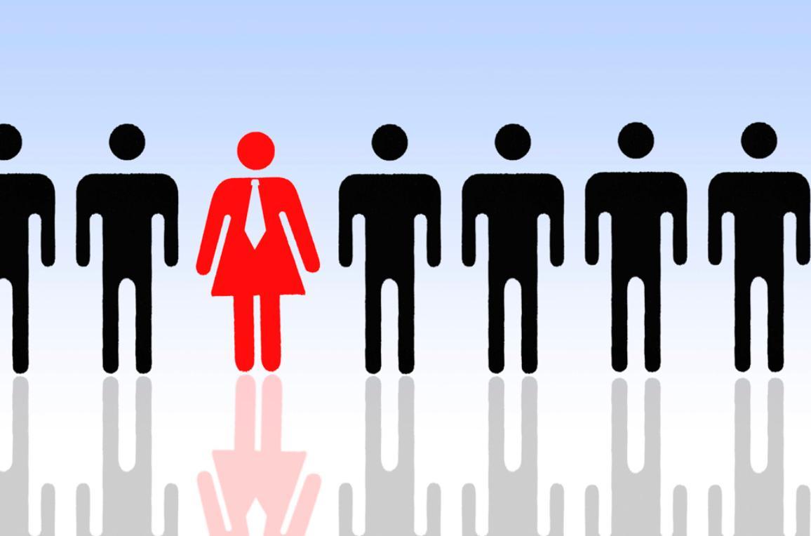 Symbolic image for women's quota ©BELGA/Imagebroker/C.Ohde