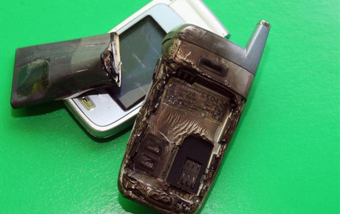 Sadedzis mobilais telefons