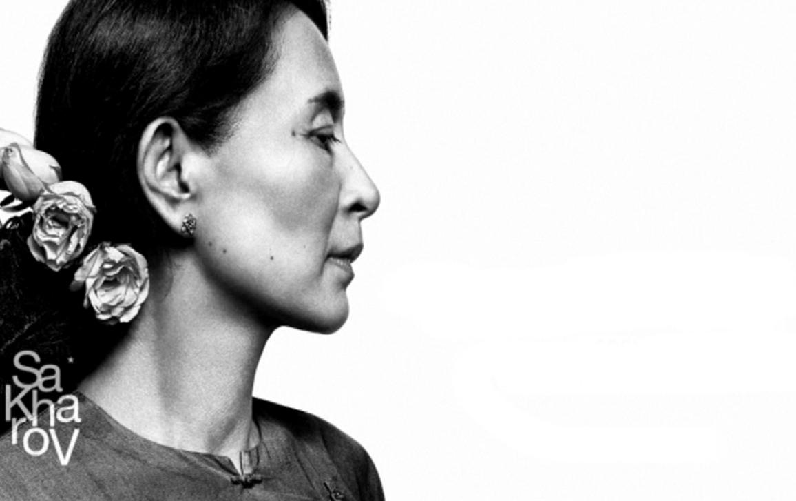 Myanmar/Burma militant and parliamentary opposition leader Aung San suu Kyi has received the Sakharov Prize  on 22 October 2013.