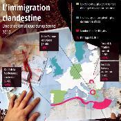 Infographie sur l'immigration clandestine