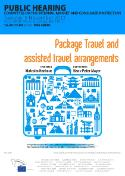 Package travel and assisted travel arrangements