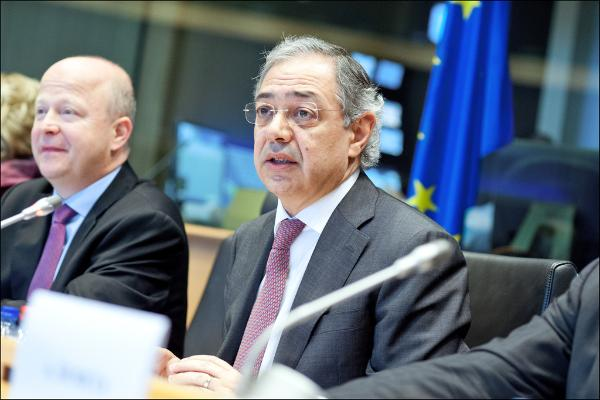 European Court of Auditor President Vítor Manuel da Silva Caldeira