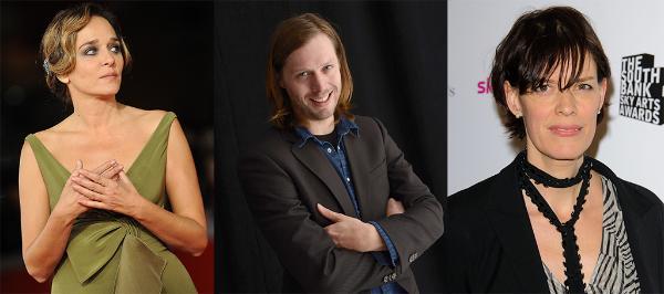 Valeria Golino, Felix Van Groeningen and Clio Barnard