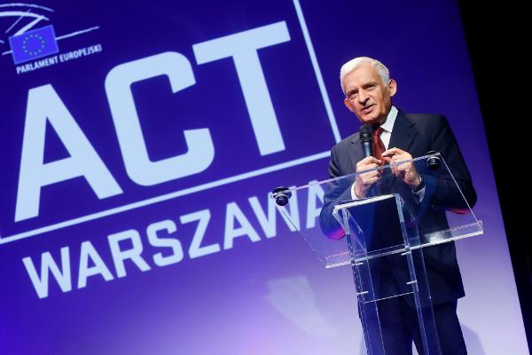 Former EP President Jerzy Buzek during the ReACT EE2014 event in Warsaw