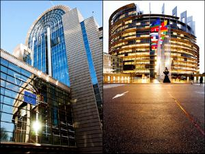 The European Parliament in Brussels and Strasbourg (alphabetic order)