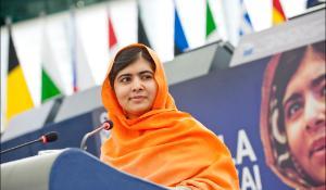 Malala Yousafzai, 2013 Sakharov Prize laureate