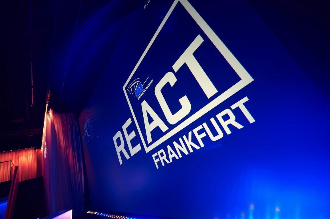 React Frankfurt event logo