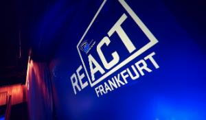 React Frankfurt event logo