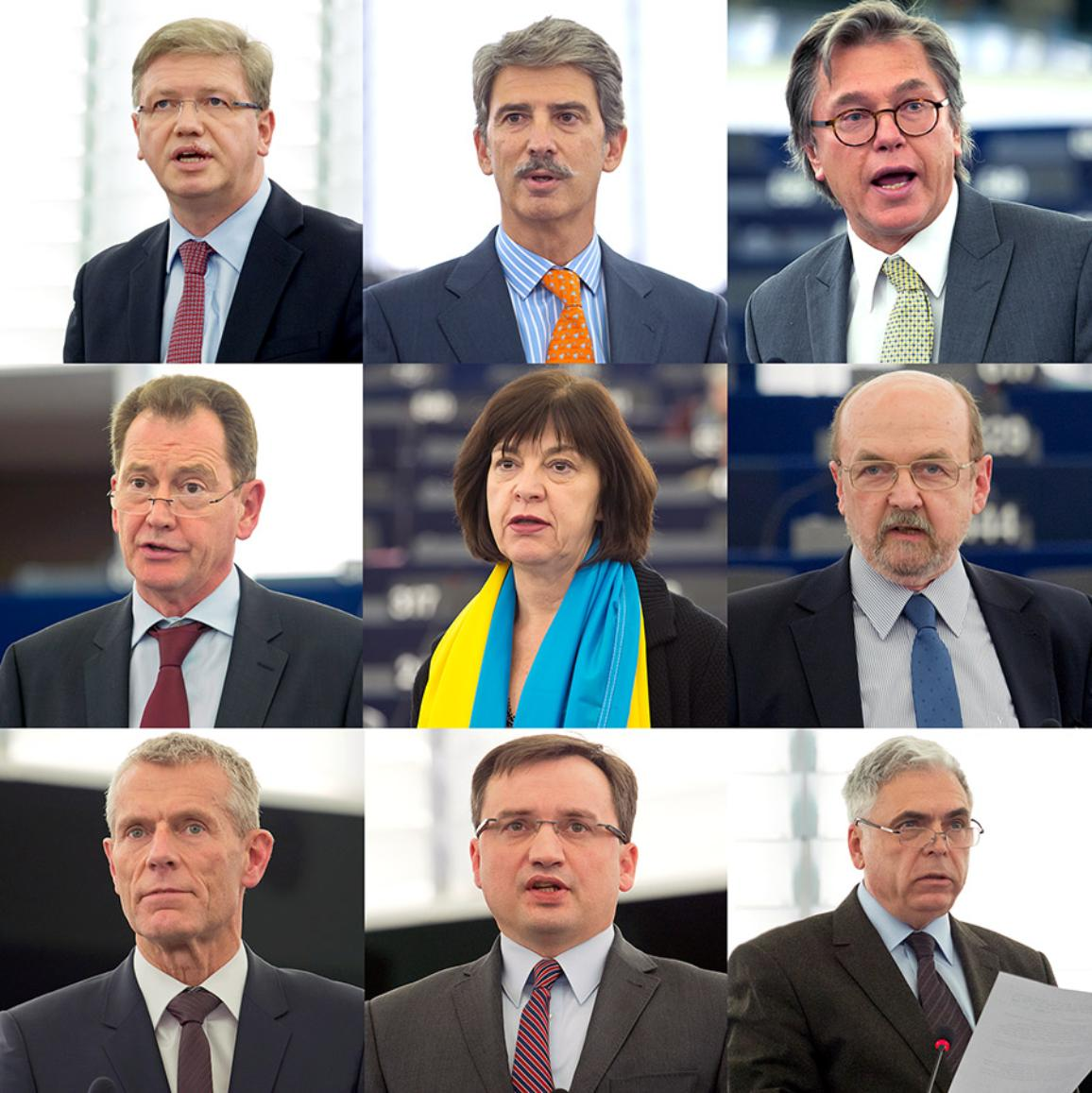 Photo des participants au débat sur l'Ukraine