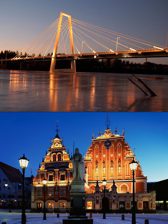 Umea-Riga layout